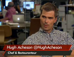 Acheson on Healthy Eats and Live Nation