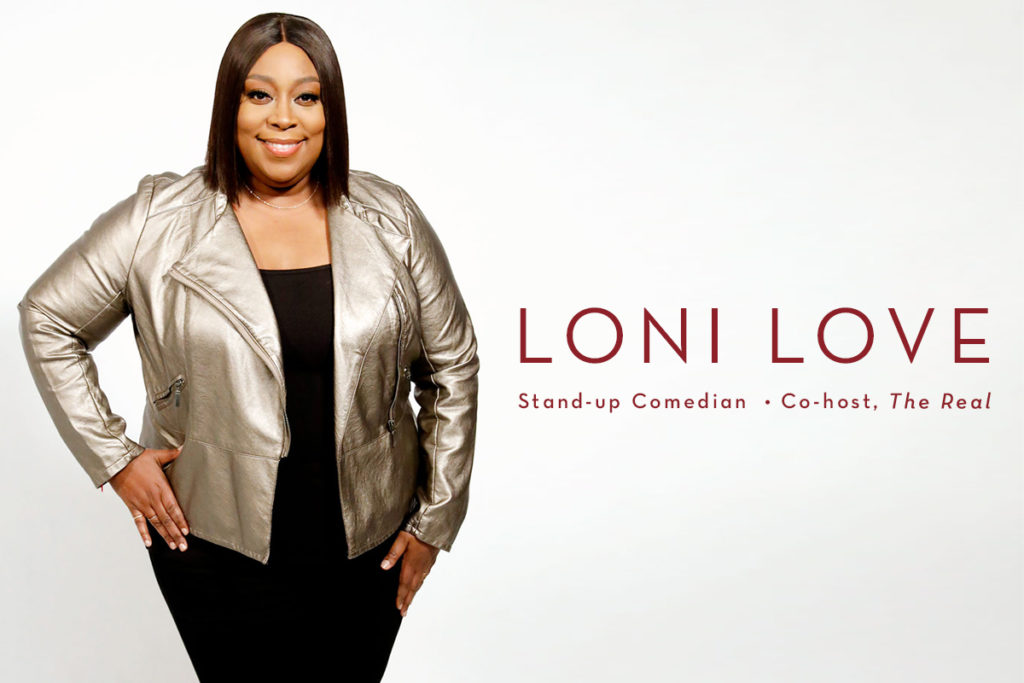 """Now Representing Loni Love: Comedian & Co-Host of """"The ..."""